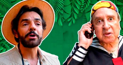"""¡Eugenio Derbez revive el personaje de Carlos Villagran """"Kiko""""!"""