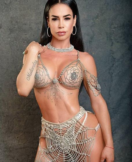 ¡Lis Vega muestra tremendo cucu en bikini!